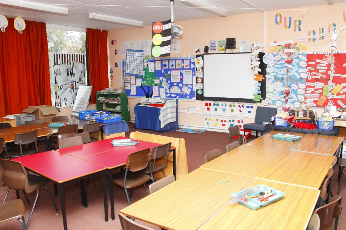 magneetbehang in de klas